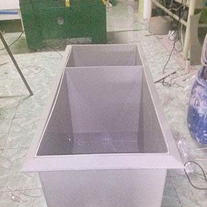 Caixa de separação de água e óleo