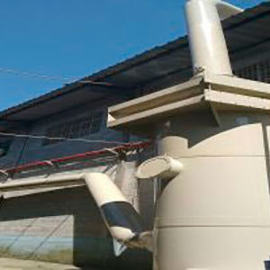 Lavador de gases em pp
