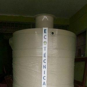 Reservatório de água polipropileno